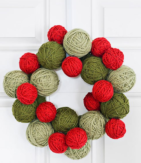 christmas - diy felt wreath