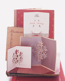 christmas diy - pop up cards