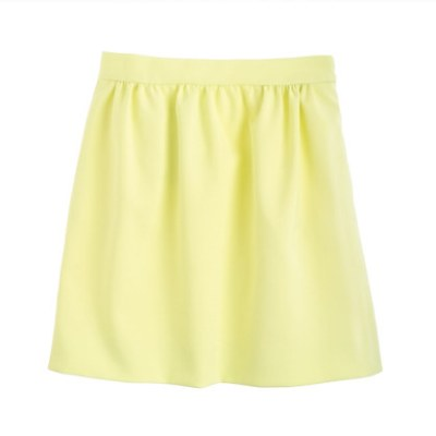 Double Crepe Skirt - J.Crew $118